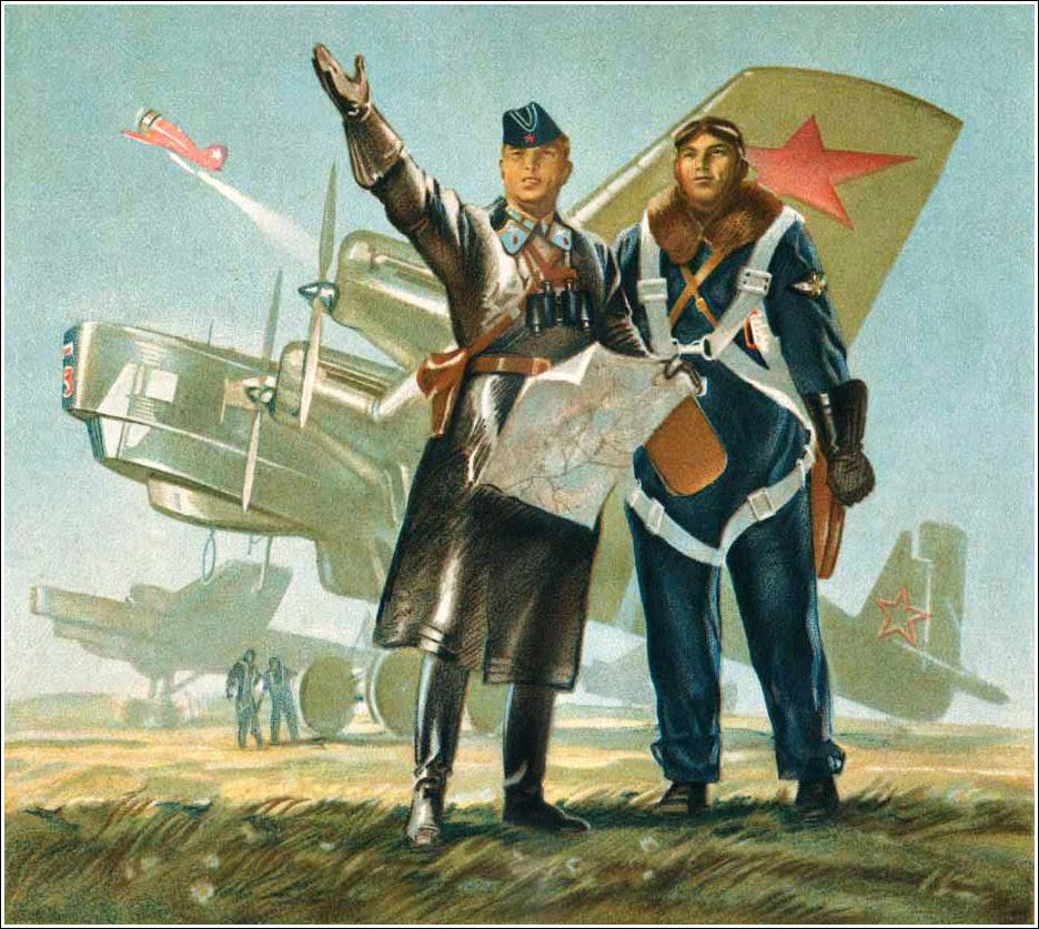 В. Щеглов, Красная армия