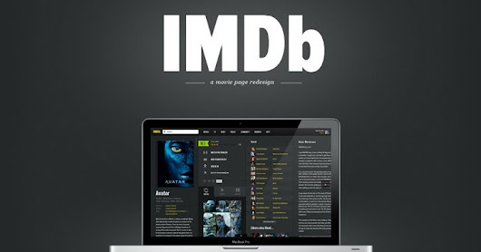 25+ Fantastic Redesign Concepts for IMDb