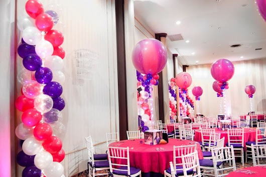 Bat Mitzvah Party Decorator