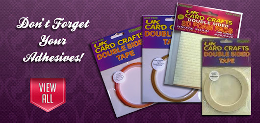 UK Card Crafts | Craft Supplies | Card Making | Fantastic Prices |