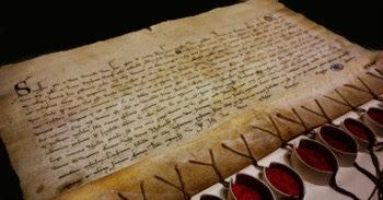 Registo de juramento de fidelidade do cardeal Gil de Albornoz ao Papa Incêncio VI