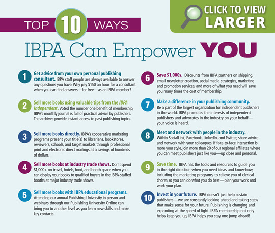 Top 10 Ways IBPA Can Empower You