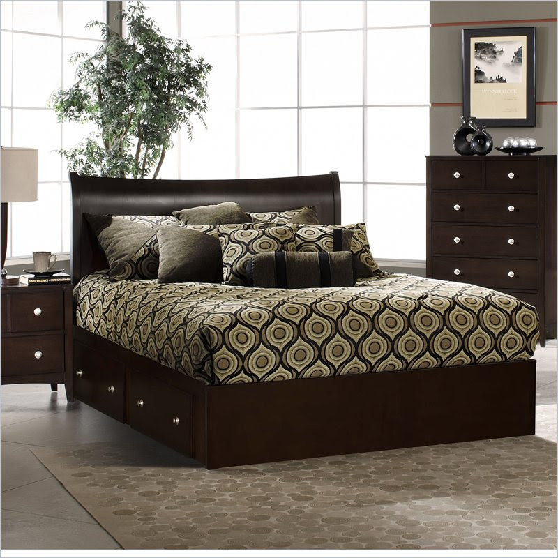Furniture > Bedroom Furniture > King Bed > Espresso King Bed