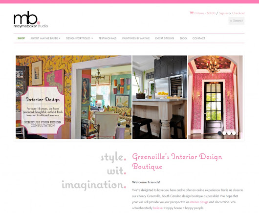Mayme Baker Studio | eCommerce Web Design | Shopify Development | SEO