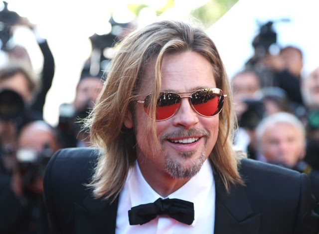 Brad Pitt at the Cannes premiere of Killing Them Softly
