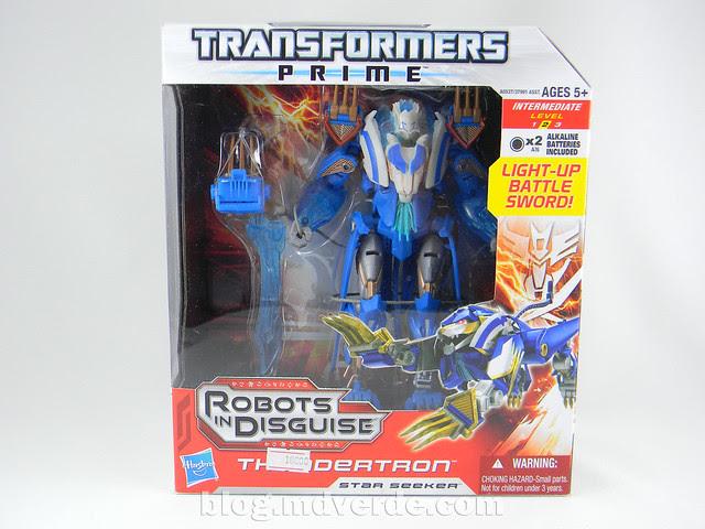 Transformers Thundertron Voyager - Prime RID - caja