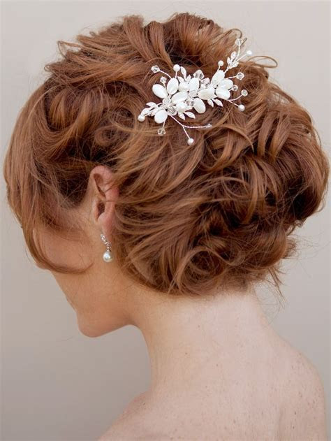 mother of the bride jewelry ideas     Bride Bridal Hair