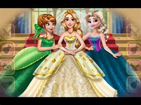 Rapunzel Princess Wedding Dress Dress Up Game For Little