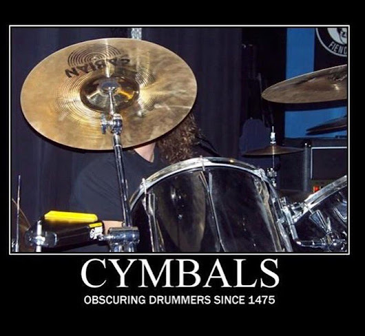 "Drumming Groovru on Twitter: ""The drummer's struggle... 😂😂😂 """