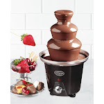 Nostalgia Mini-Chocolate Fountain - Black