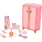 Disney Princess 98872 Style Collection Suitcase Travel Set, Multi