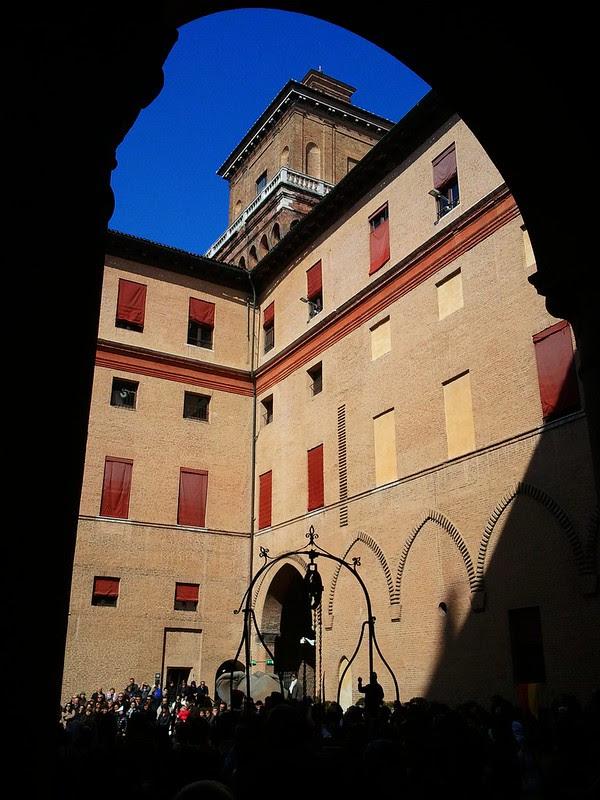 Estense Castle of Ferrara,Italy-Castello Estense di Ferrara,Italia-copyright www.fedetails.net