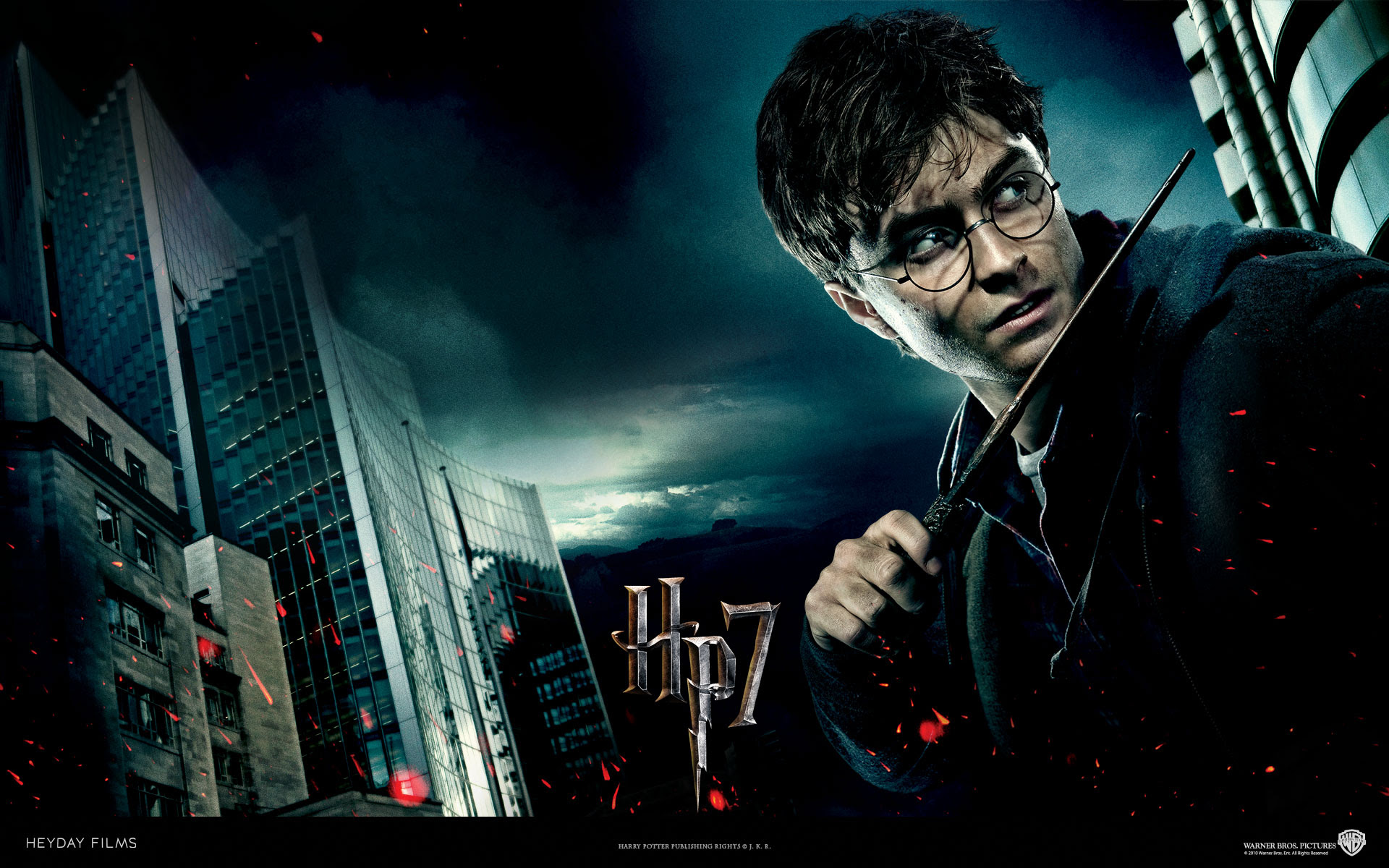 Harry Potter From Harry Potter And The Deathly Hallows Desktop