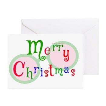 2 Merry Christmas Greeting Cards (pk Of 10)