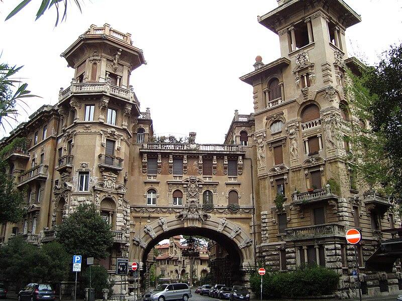 File:Coppede quartiere Trieste a Roma.JPG