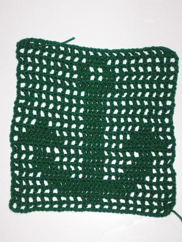 Filet Crochet anchor