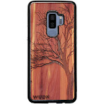 Slim Wooden Phone Case   Winter Tree in Aromatic Cedar Samsung S10 Plus