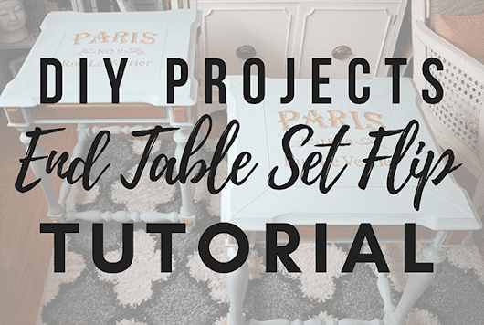 DIY Projects : End Tables Makeover Tutorial | Arts and Classy