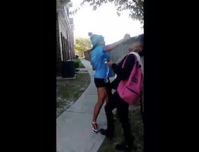 Outta Nowhere: Sharkeisha Confronts Girl And Super Falcon Punches Her You F*cked With The Right One ( So Wrong For This This) [1 Min+ Version]