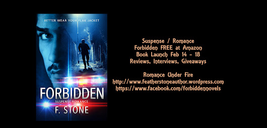 Forbidden by F. Stone A Suspense Thriller My Review & Author Spotlight Guest Post -