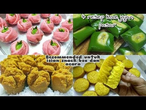 4 Resep Jajan Pasar Recommended Untuk Isian Snack Box dan Acara (Di Ruma...