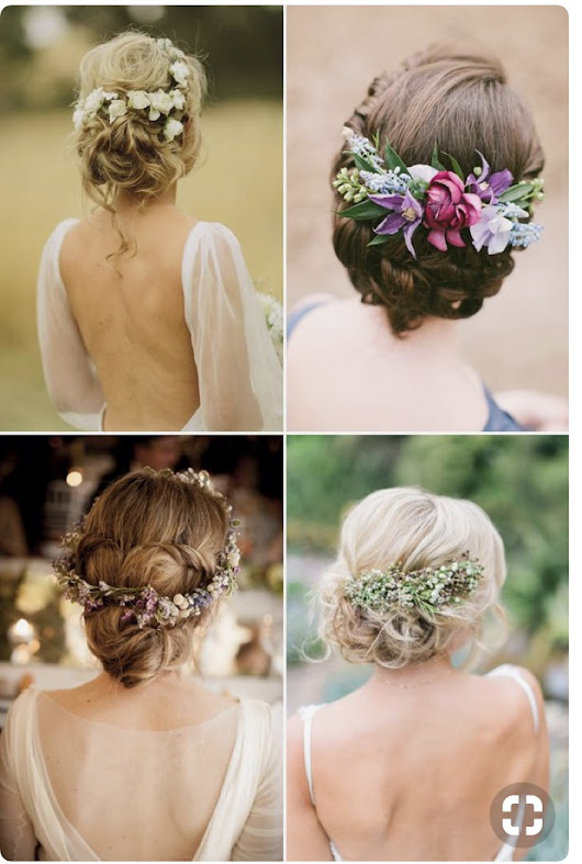 Flowers In Your Hair? Your Wedding Headpiece - Mother of the Bride