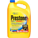 Prestone Antifreeze Coolant, 50/50 Predulated - 1 gallon jug