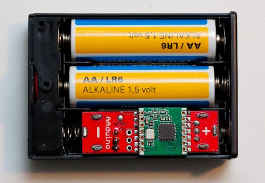 Meet the Arduino Clone That's the Size of a AA Battery | Make: DIY Projects and Ideas for Makers
