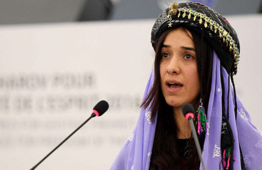 Media silence as gang rape survivor from northern Iraq wins Nobel Peace Prize
