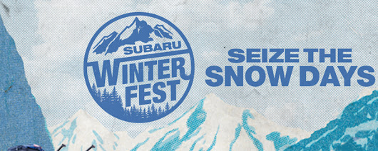 Subaru U.S. Media Center - #SEIZETHESNOWDAYS: SUBARU WINTERFEST LIFESTYLE TOUR CELEBRATES WINTER ADVENTURE<br />