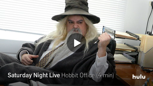 Martin Freeman's Two Greatest Roles Collide in SNL's 'Hobbit Office'