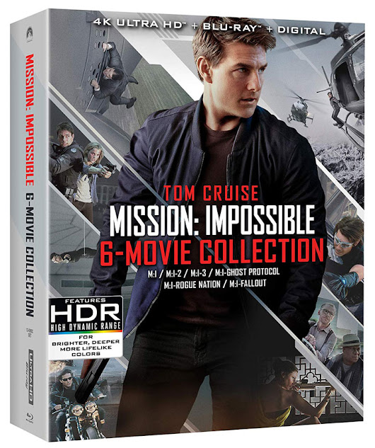 Mission: Impossible – 6 Movie Collection on Blu-ray & 4k Blu-ray includes Newest Hit 'Fallout' – HD Report