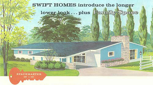 Terrific curb appeal ideas from Swift Homes 1957 house plans ...