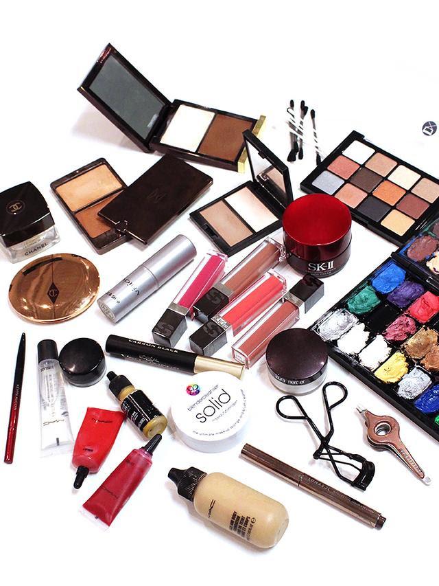 Makeup artist must haves