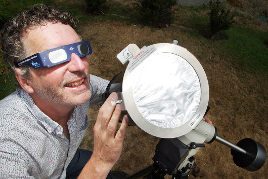 Nanaimo astronomers await solar show with coming eclipse - Nanaimo News Bulletin