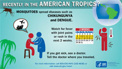 Poster: Recently in the American Tropics?
