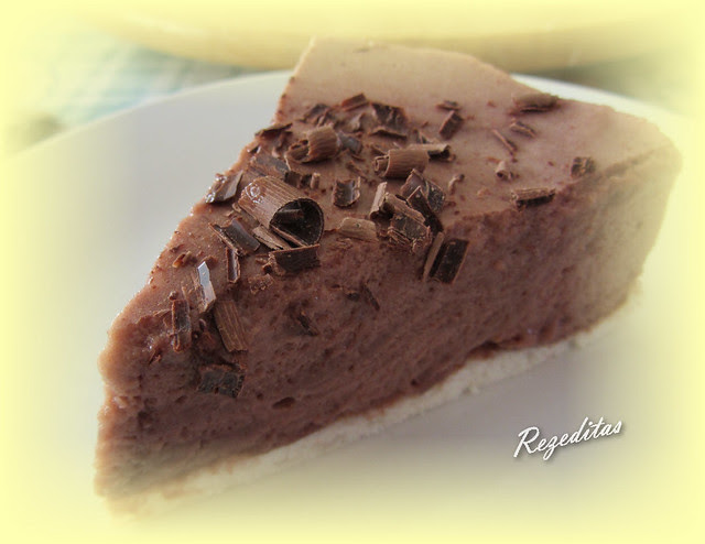 TARTA MOUSSE DE CHOCOLATE LIGHT