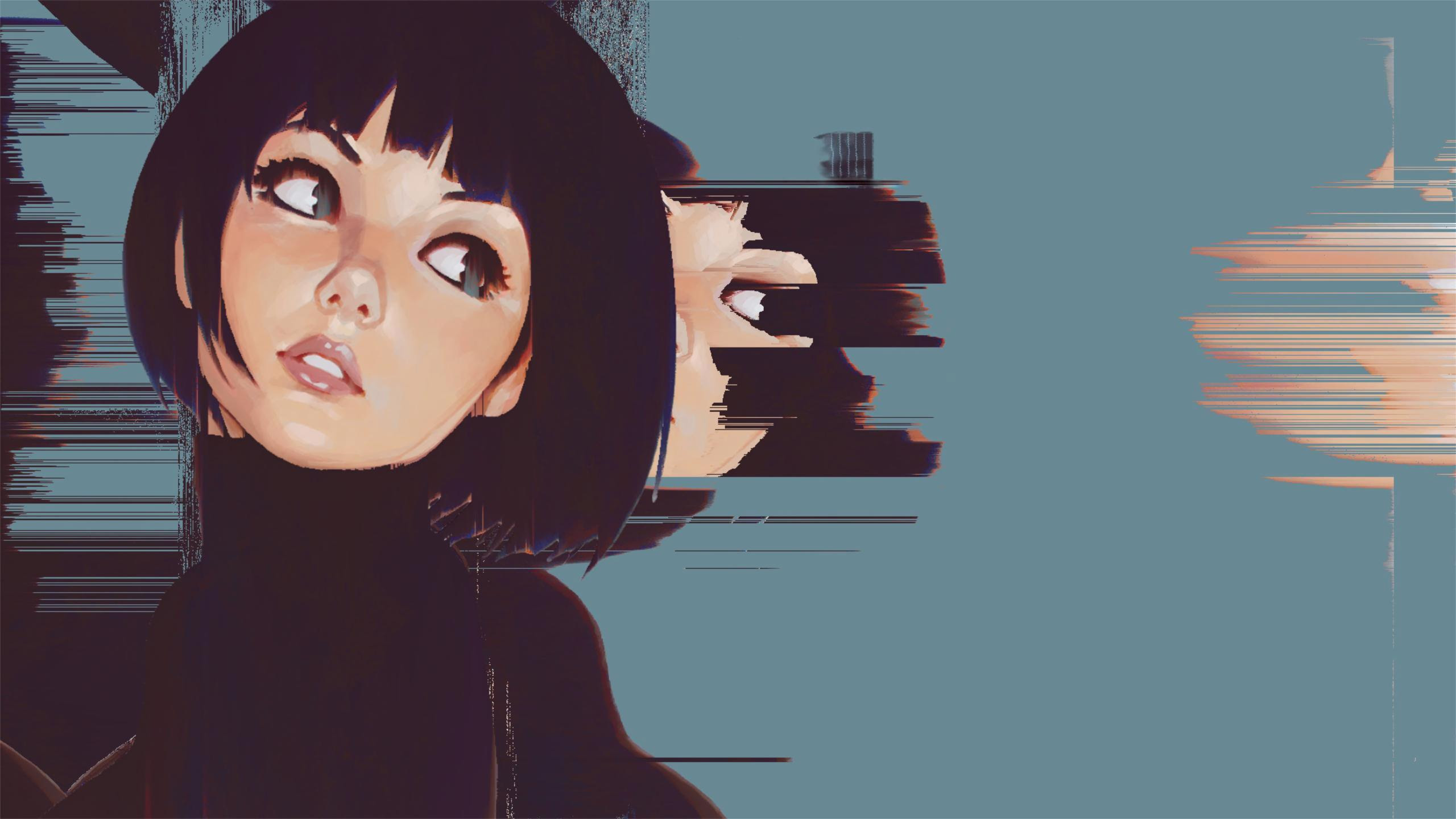 8000+ Wallpaper Anime Glitch Hd  Gratis