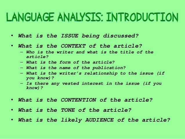 How to Write an A+ Language Analysis Introduction   Lisa's Study Guides