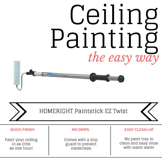Ceiling Painting the Easy Way