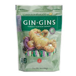 Ginger People Gin Gins Chewy Ginger Candy Original, 3 Oz