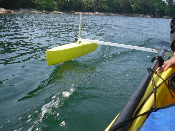 On Tues: Guide Diy kayak rudder