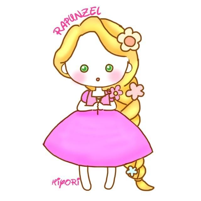 プリンセス イラスト 簡単 ディズニー
