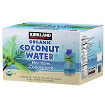 Kirkland Signature Organic Coconut Water, 11.1 fl oz, 12-count