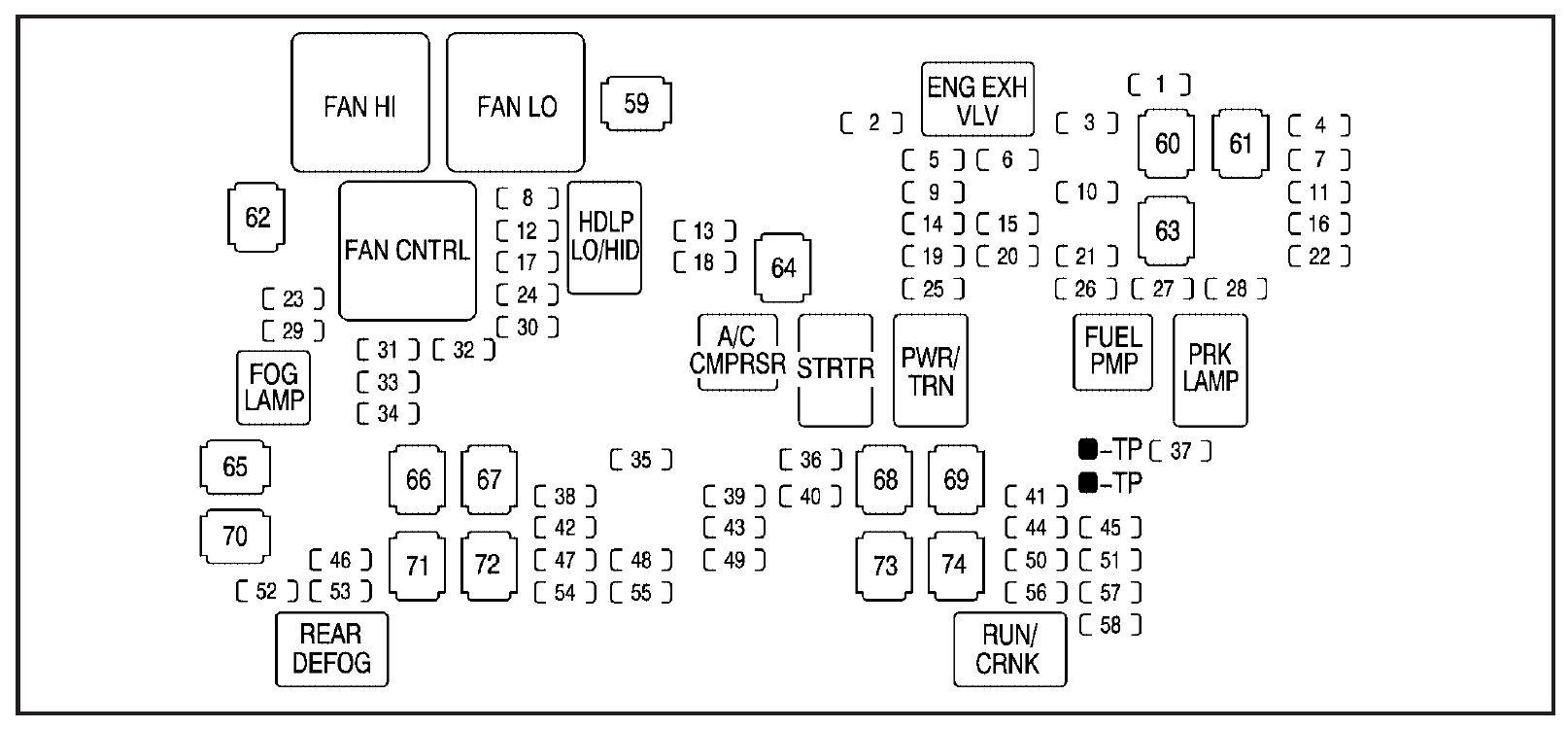 32 2002 Gmc Sierra 1500 Fuse Box Diagram