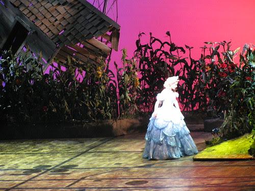 Glinda and Dorothy's house