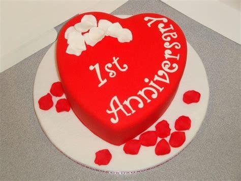 1St Anniversary Cake   CakeCentral.com