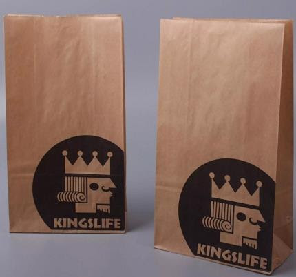 China Customized Kraft Paper Material Disposable Bags ...
