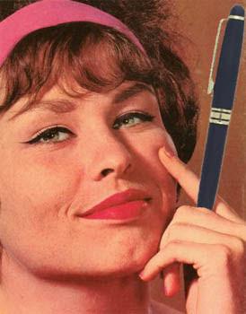 Substitua cigarro por caneta
