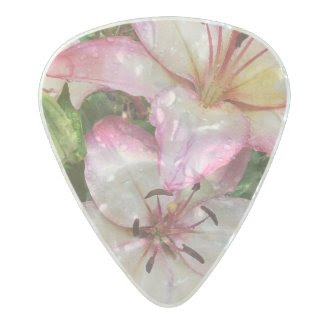 Pastel Lilies Guitar Pick for HER